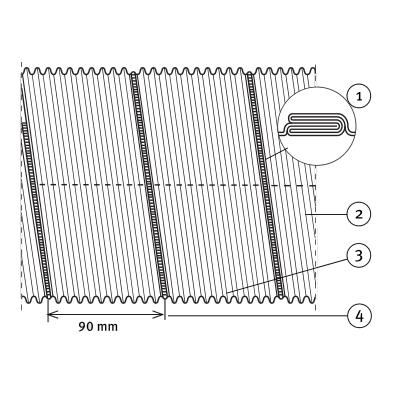 przewody półelastyczne flex aluminiowe 2