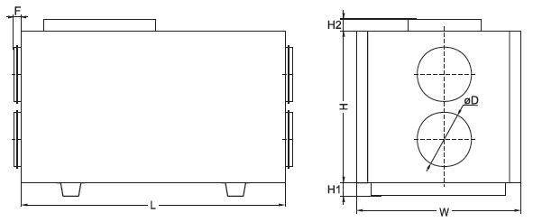 centrala wentylacyjna salda ris 400 h 3.0 wymiary