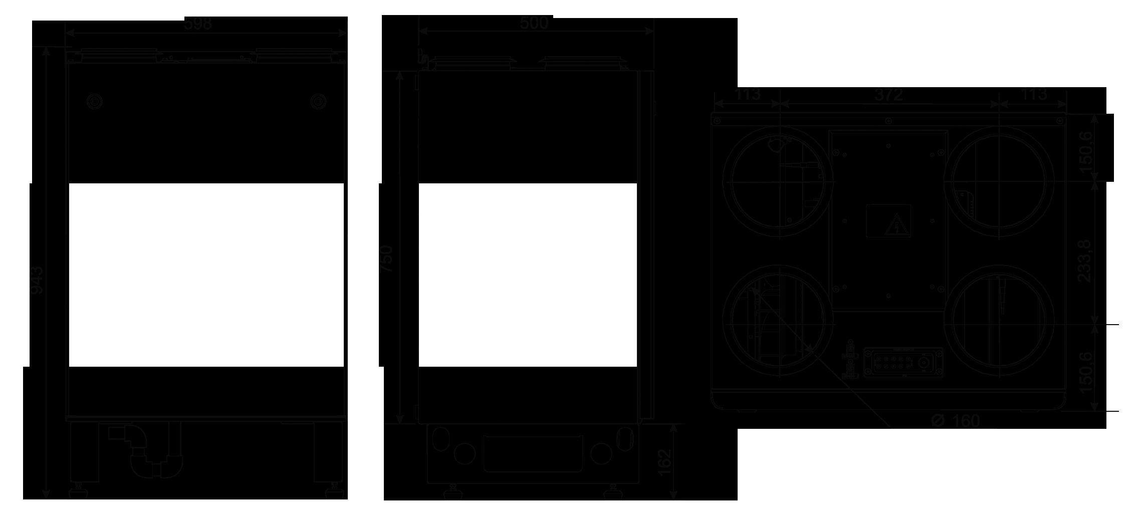 centrala wentylacyjna salda smarty 3x ver wymiary