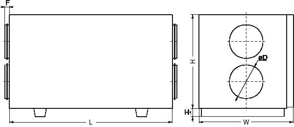 centrala wentylacyjna salda rirs 400 he eko wymiary