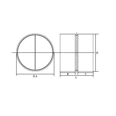 przepustnice zwrotne zastawkowe do kanałów okrągłych 2