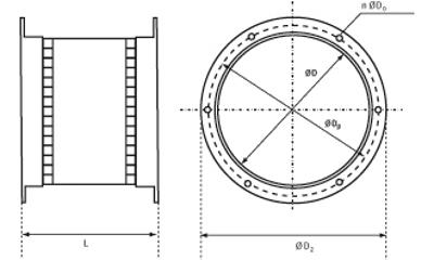 okrągłe króćce elastyczne 2