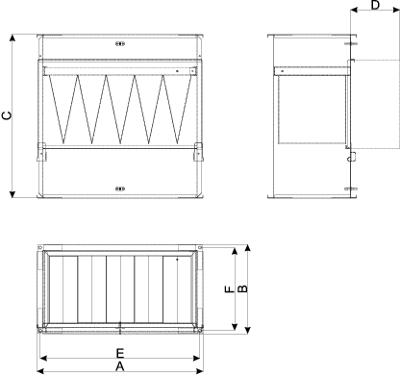 filtry kieszeniowe do kanałów prostokątnych 2