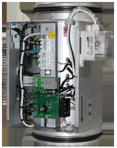 kanałowe nagrzewnice elektryczne EKA NV PH
