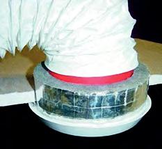 astro acoustic vent sleeve pęczniejąca osłona akustyczna