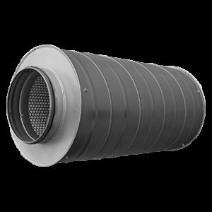 Tłumiki akustyczne wentylacyjne okrągłe