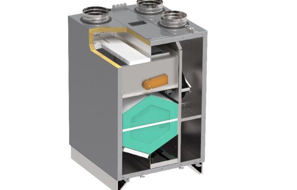 Centrale wentylacyjne z odzyskiem ciepła (rekuperatory)